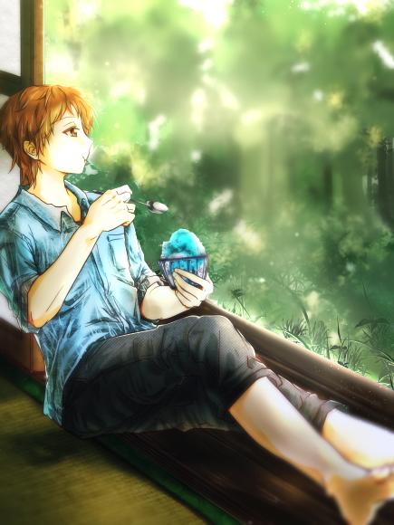 夏の描きます企画絵 桐谷さん