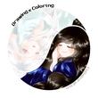【線×色Ⅳ】線画01(巴な感じ)汀雲さん