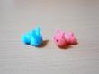 赤ウサギと青ウサギ