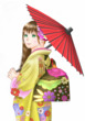 振袖乙女(プロフィール用画像)