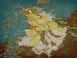 サグネリ大公国の地図