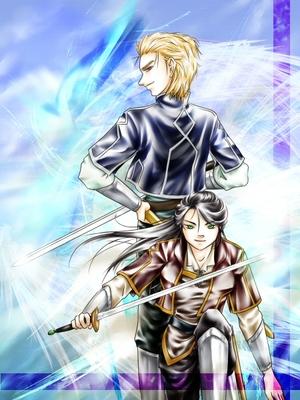 騎士っぽい二人