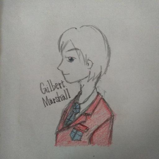 ギルバート横顔