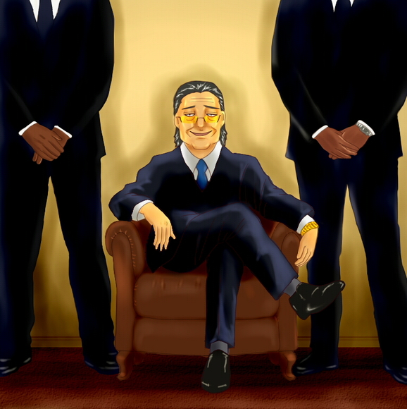 ボス、椅子