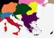 旧ヨーロッパ南半分