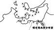 博多湾水深分布図