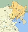 東北三省(旧満州)地図、拡大(改)