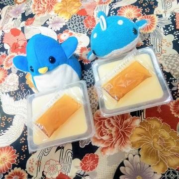 アデリーとジンベーと卵豆腐