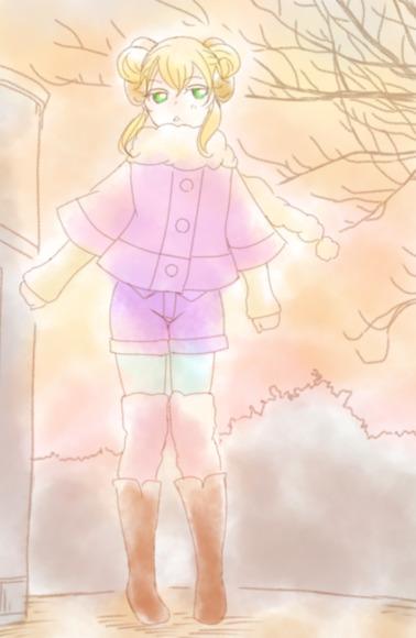冬の真珠ちゃん