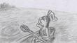 太宰治『お伽草紙』「カチカチ山」イメージ