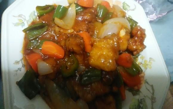 手作り料理 酢豚