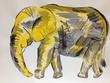 幸せを呼ぶ黄色いゾウさん。