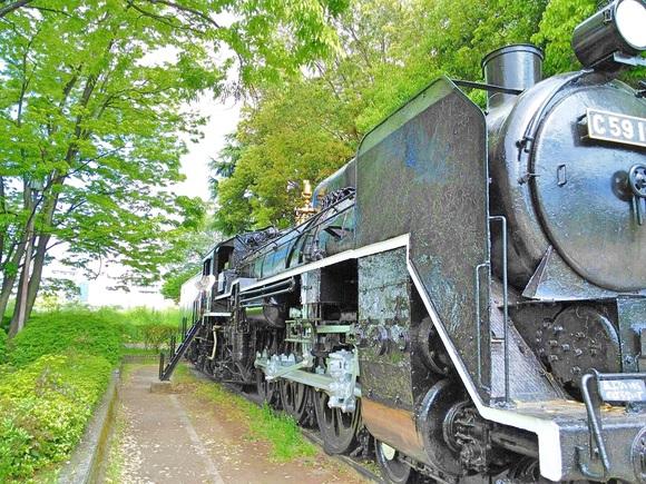 森の機関車