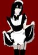 黒髪少女A