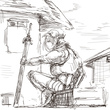 お題12:傭兵(女)