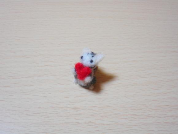 バレンタイン猫