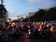 サイゴンの夕景