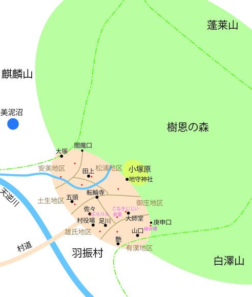 羽振村概略図