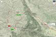街亭古戦場周辺地図