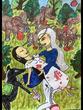 復讐の王女と願いの石 第四章の挿絵