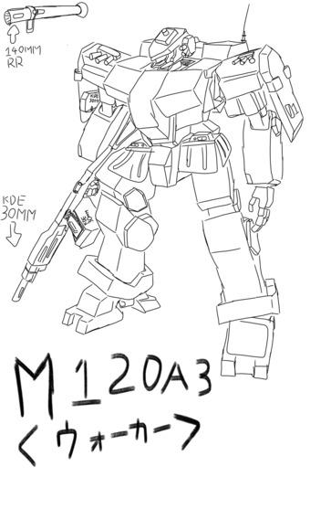 米軍歩行戦闘車M120A3<ウォーカー>
