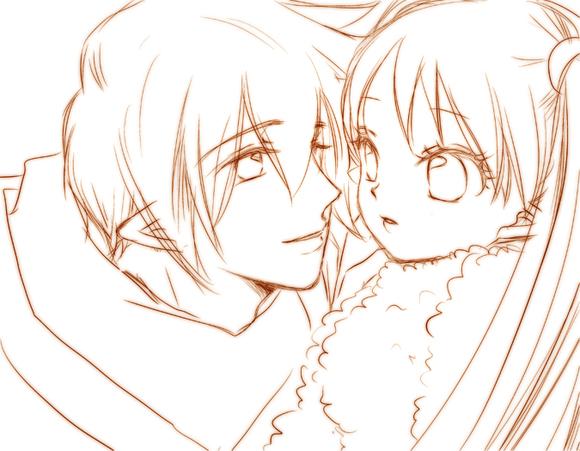 【線絵】シン&ソフィア