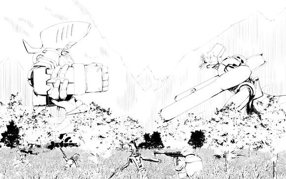 勇者大戦挿絵8