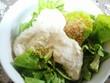 家庭菜園 サンチュのサラダ