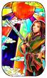 【線×色Ⅲ】和風なヒト そのいち(線画:汀雲様)