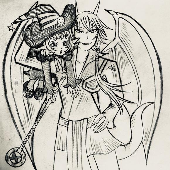 アンナとララべ(現在)