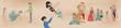 人魚姫のお伽話絵巻調物語2