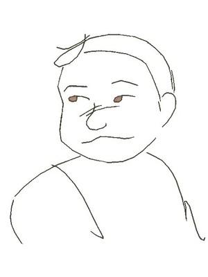 【オッサンFes☆2011 !!!】 へのへのもへじ おっさん