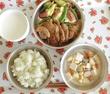 給食メニュー 生姜焼き