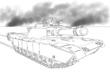 M1A1戦車