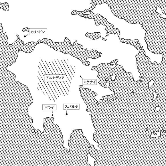 転生ヘラ17-3地図スパルタ
