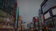 新宿靖国通り歌舞伎町入り口前