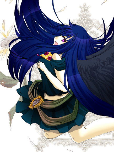 【線×色Ⅱ】秋花様の線画