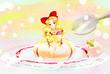 【線×色Ⅲ】ケーキ(まうす様)