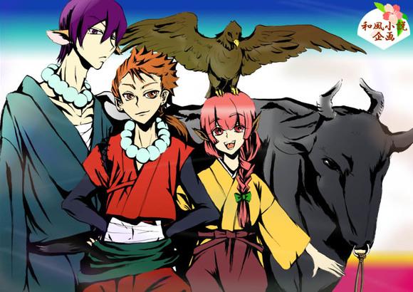 【和風小説企画】宣伝絵