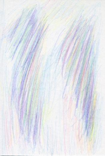 詩集 『夢見がちな魚』の第33回の挿絵