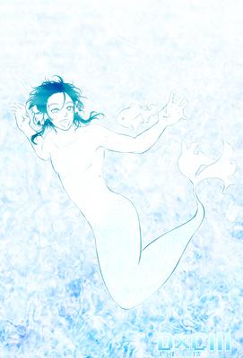 【線×色Ⅲ】魚(線画)(まうすさまの線画)