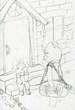 童話「マーサのお姉さんが帰ってきた」の挿絵