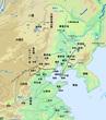 東北三省(旧満州)地形地図