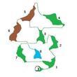 オルレアン密林地図