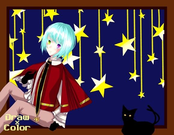 【線画×彩色◆コラボ祭Ⅳ】線画-2(ラズベリーパイさん)