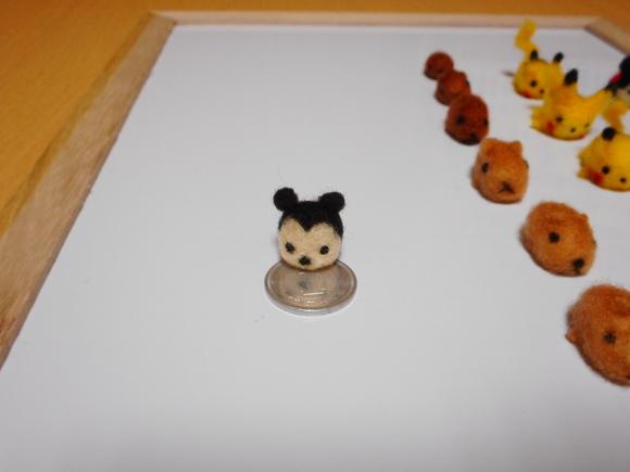 ランドのネズミと一円玉