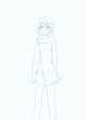 『迷い子アリスとニナ』  ニナのイメージ絵(落書き)