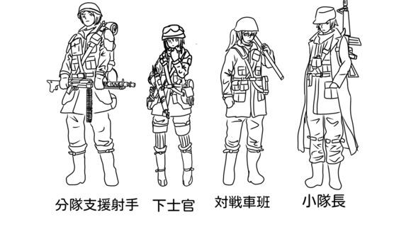 王国兵一般装備
