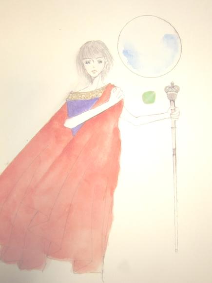 『王杖と月』