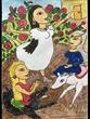 復讐の王女と願いの石 第八章の挿絵